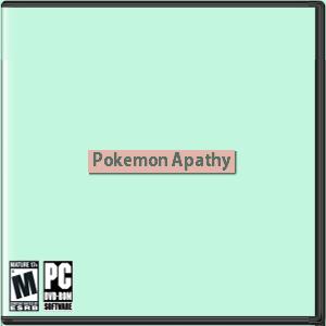 Pokemon Apathy Box Art