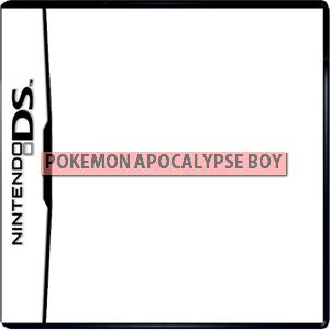 Pokemon Apocalypse Boy Box Art