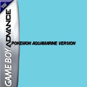 Pokemon Aquamarine Version Box Art