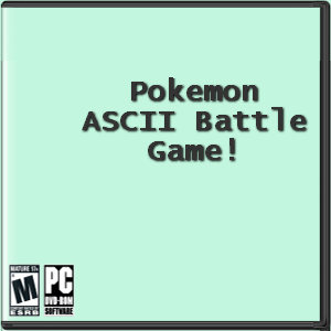 Pokemon ASCII Battle Game! Box Art