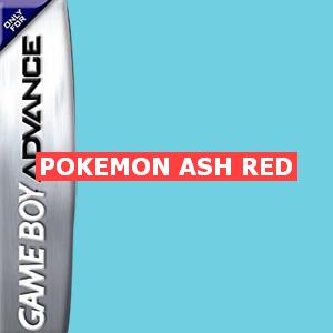 Pokemon Ash Red Box Art