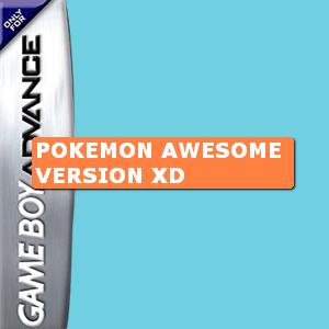 Pokemon Awesome Version XD Box Art