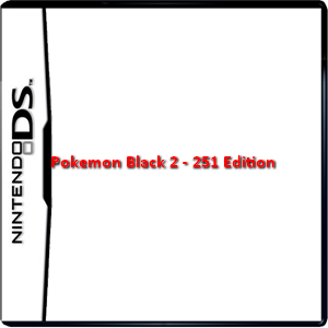 Pokemon Black 2 - 251 Edition Box Art