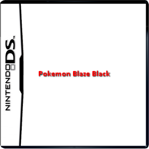 Pokemon Blaze Black Box Art