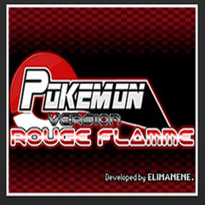 Pokemon Blazed Red Box Art