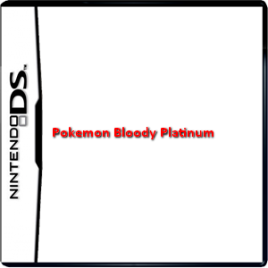 Pokemon Bloody Platinum Box Art