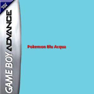 Pokemon Blu Acqua Box Art