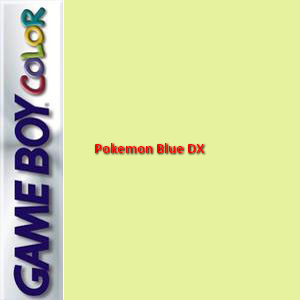 Pokemon Blue DX Box Art