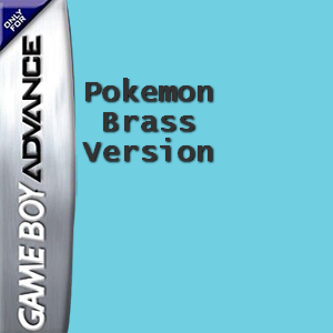 Pokemon Brass Version Box Art
