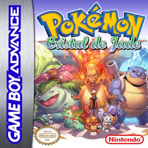Pokemon Cristal de Jade Box Art