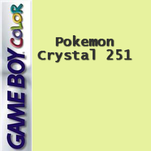 Pokemon Crystal 251 Box Art