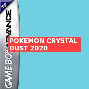 Pokemon Crystal Dust 2020 Box Art
