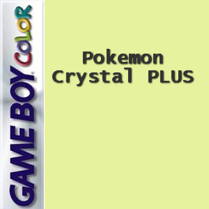 Pokemon Crystal PLUS Box Art