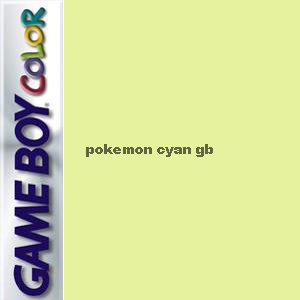 Pokemon Cyan GB Box Art