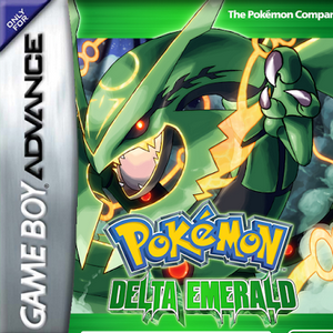 Pokemon Delta Emerald Box Art