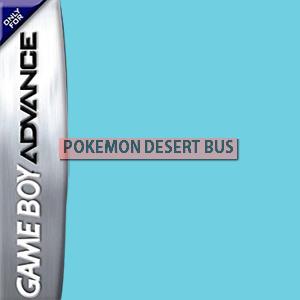 Pokemon Desert Bus Box Art