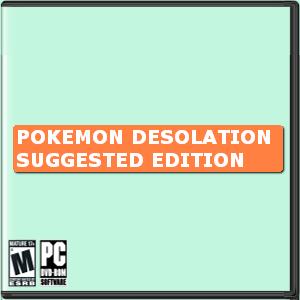 Pokemon Desolation Suggested Edition Box Art