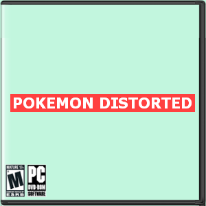 Pokemon Distorted Box Art