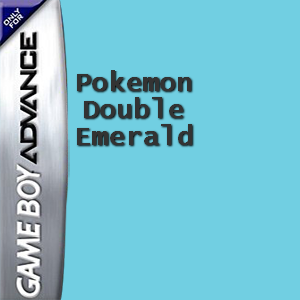 Pokemon Double Emerald Box Art