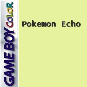 Pokemon Echo Box Art