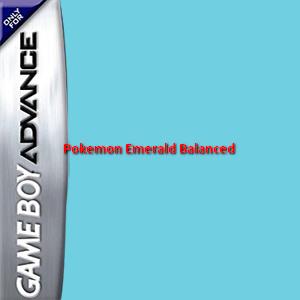 Pokemon Emerald Balanced Box Art