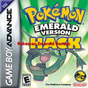Pokemon Emerald Genesis Box Art
