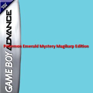 Pokemon Emerald: Mystery Magikarp Edition Box Art