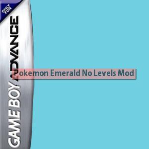 Pokemon Emerald - No Levels Mod Box Art