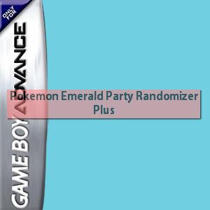 Pokemon Emerald Party Randomizer Plus Box Art