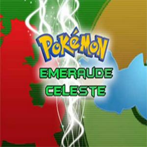 Pokemon Emerald Sky Box Art