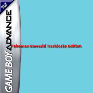 Pokemon Emerald Trashlocke Edition Box Art