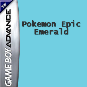 Pokemon Epic Emerald Box Art