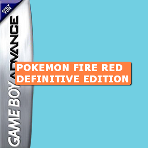 Pokemon Fire Red Definitive Edition Box Art