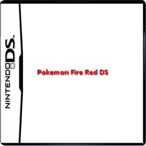 Pokemon Fire Red DS Box Art