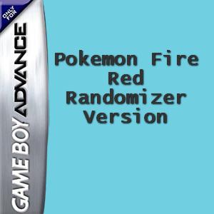 Pokemon Fire Red Randomizer Version Box Art