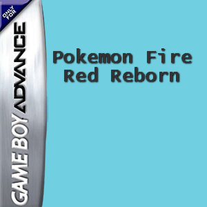Pokemon Fire Red Reborn Box Art