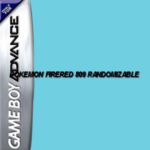 Pokemon FireRed 809 Randomizable Box Art