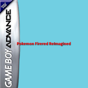 Pokemon Firered ReImagined Box Art