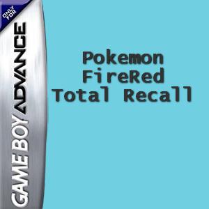 Pokemon FireRed: Total Recall Box Art