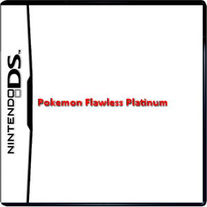 Pokemon Flawless Platinum Box Art