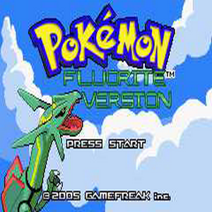 Pokemon Fluorite Version Box Art