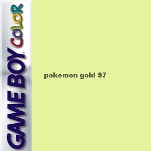 Pokemon Gold 97 Box Art