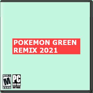 Pokemon Green Remix 2021 Box Art