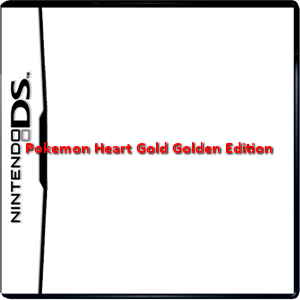 Pokemon Heart Gold Golden Edition Box Art