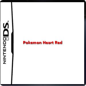 Pokemon Heart Red Box Art