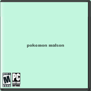 Pokemon Malson Box Art