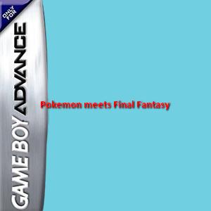 Pokemon meets Final Fantasy Box Art