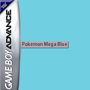 Pokemon Mega Blue Box Art