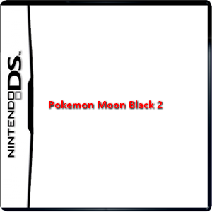 Pokemon Moon Black 2 Box Art