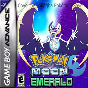 Pokemon Moon Emerald Box Art